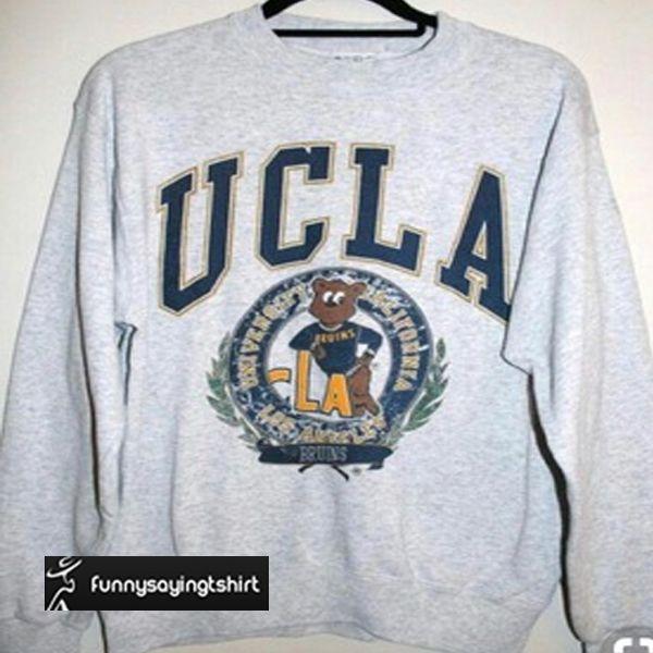 UCLA Bruins logo sweatshirt in 2020 | College hoodies