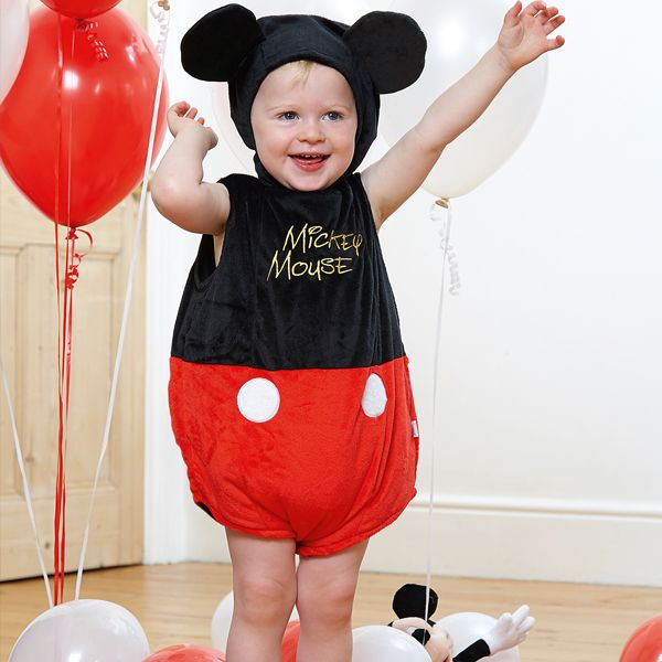 Disney Baby - Mickey Mouse Tabard with Feature Hat
