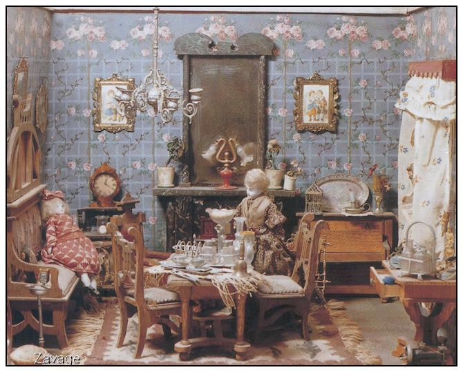 1000 images about poppenhuizen on pinterest shabby chic dollhouses and search - Woonkamer design bibliotheek ...