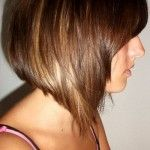 Example of what I do not want at the moment… Too much the same length around the back and sides.  Side View of Graduated Bob Hairstyle - Short Haircut for Women