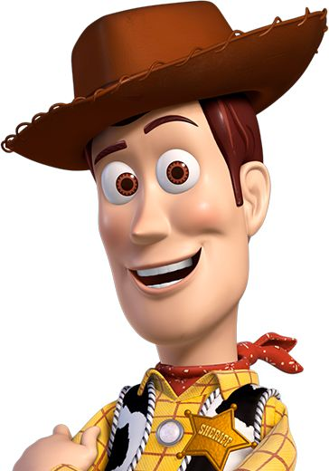 Woody, Toy Story.