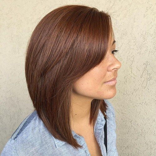 25+ Best Ideas About Long Layered Bobs On Pinterest