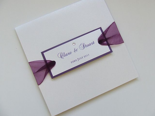 Louisiana Pocketfold Wedding Invitation by Wedding Paraphernalia, via Flickr