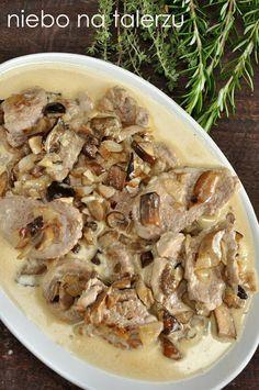 niebo na talerzu: Polędwiczki z grzybami, pyszne i łatwe