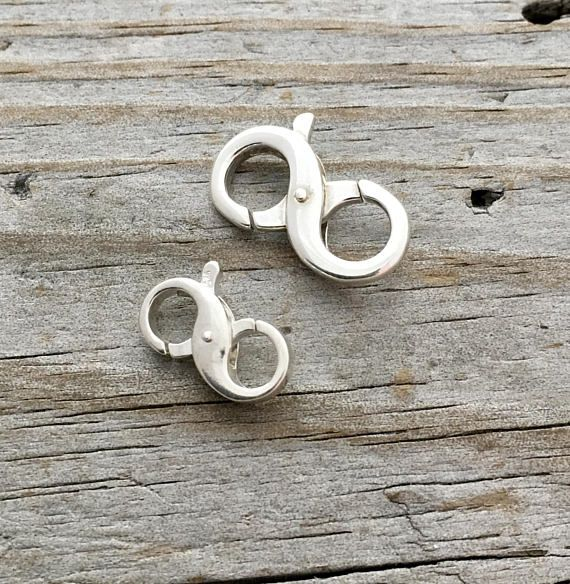 Solid Sterling Silver Open Jump Rings 20 gauge 8mm 925 Italy 20pcs