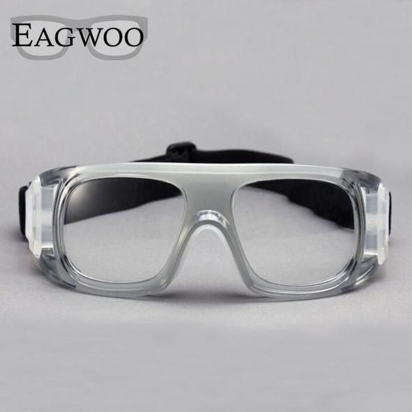 50247ca279f Eagwoo Adult outdoor sports basketball football glasses volleyball tennis  eyewear glasses goggles myopic lens mirror frame