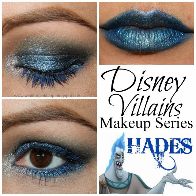 Wink for Pink: Disney Villain Makeup Series {Hades} Makeup Monday