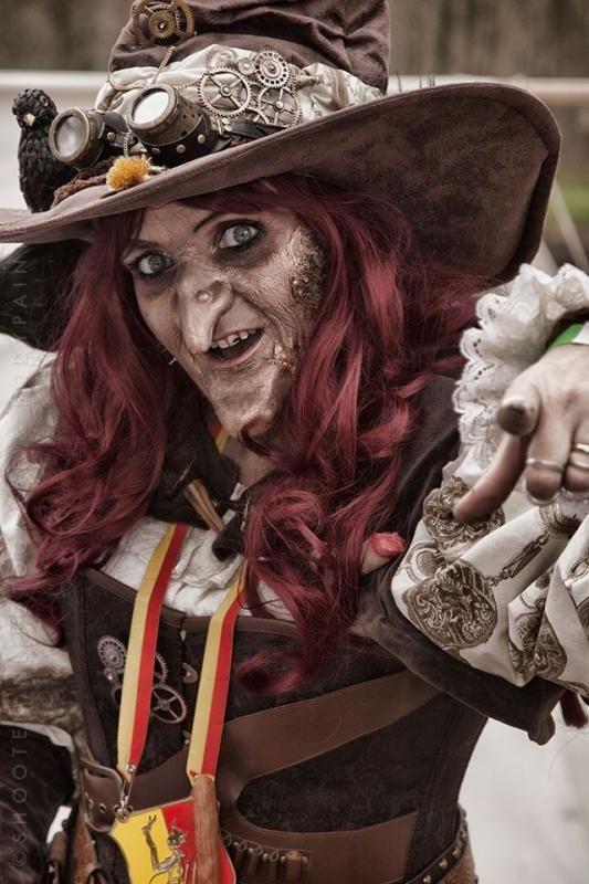 steampunk witch - Elfia