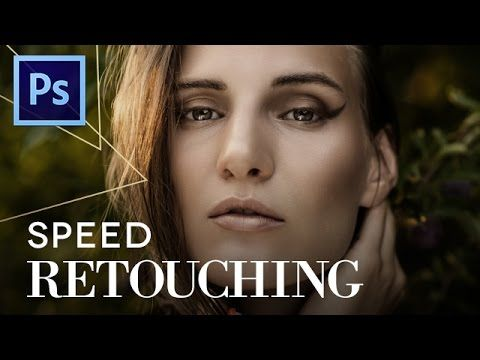 SPEED RETOUCHING in Photoshop CS6 - 30 minutes in 4 - YouTube