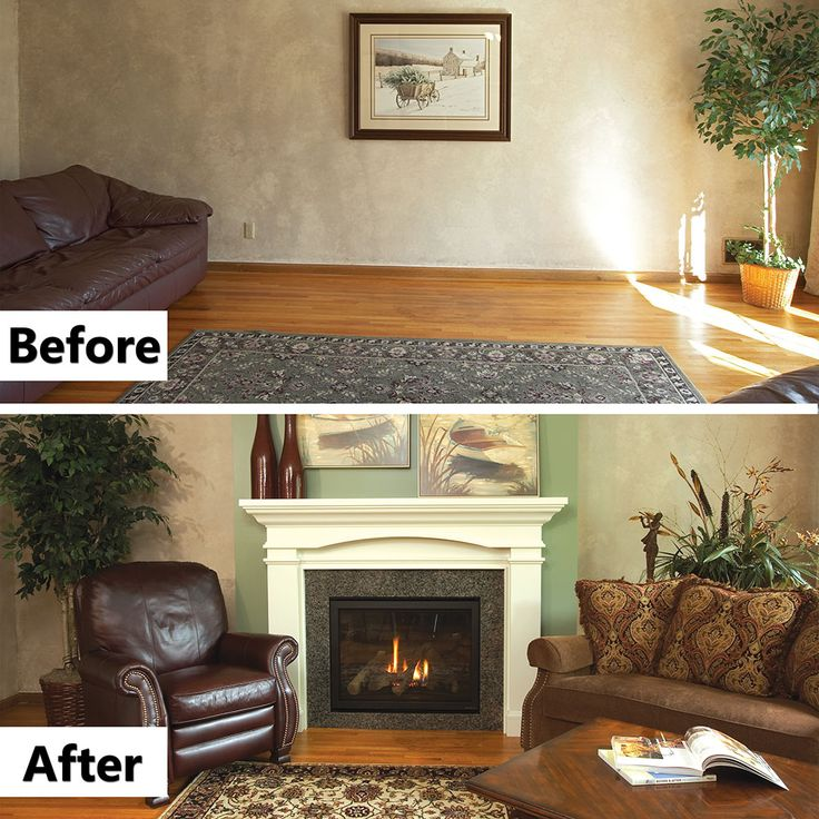 41 best Before & Afters images on Pinterest | Mantles ...