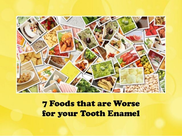 7 Foods that are Worse for your Tooth Enamel allsmilesdentalpractice.com.au