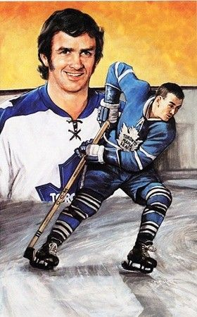 Hockey Legends Portrait - Dave Keon