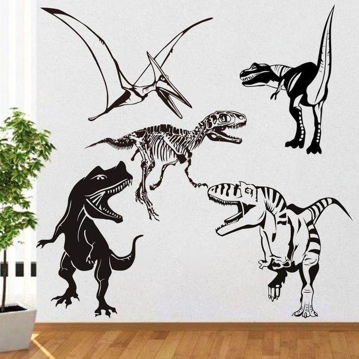 25 best ideas about dinosaur kids room on pinterest for Dinosaur wall decals for kids rooms