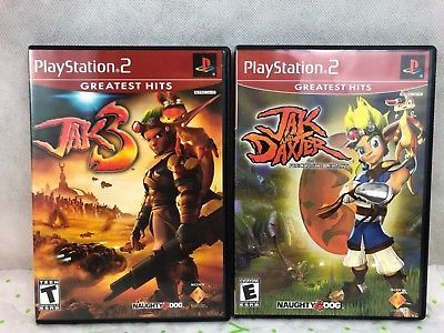 PlayStation 2 Jak And Daxter The Precursor Legacy Jak 3 Video Games Lot