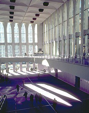 Lobby of WTC1 before 9/11.