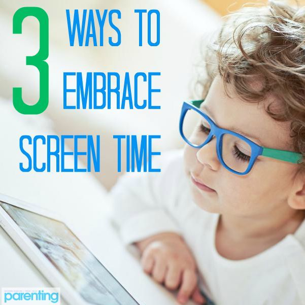 Embrace screen time. Instead of pushing technology away from your kids, take ownership of what content they see and use it for good.