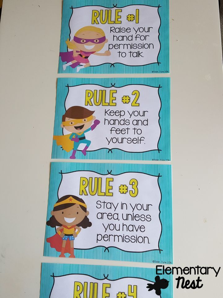 Classroom rules- from a superhero classroom- editable format that you can make your own classroom rules. Also available in 13 other classroom themes.