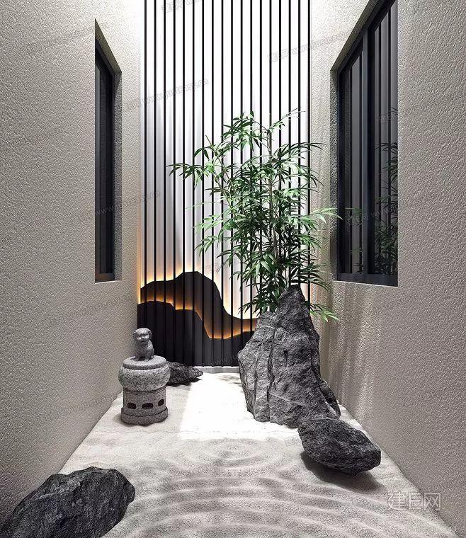 19 Jardin zen interior