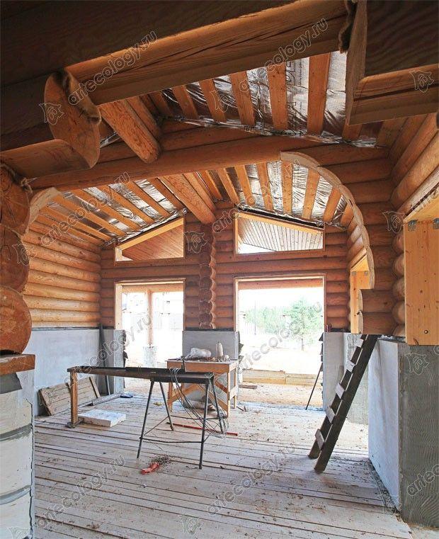 Проект комбинированного дома 2008г. Как мы перекрываем пролёты больше шести метров.