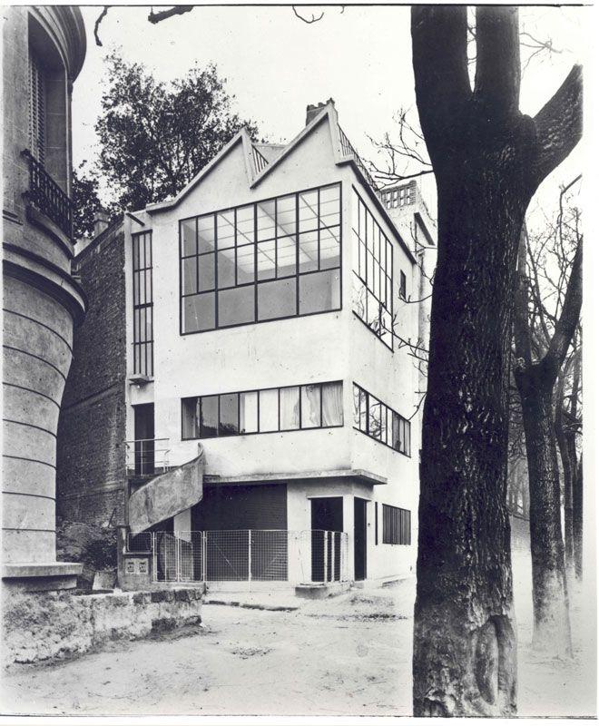 house and atelier ozenfant, paris, france, le corbusier