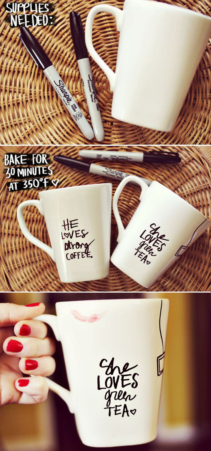 DIY Sharpie Mugs
