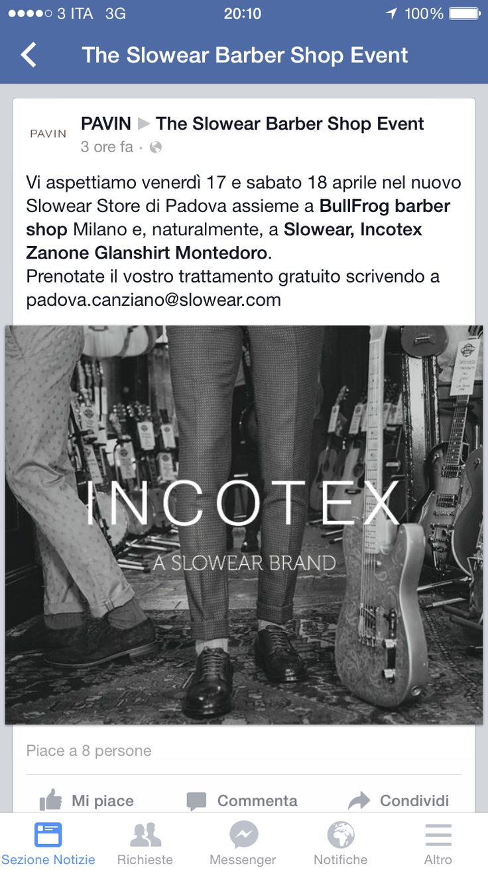 Padova Barber Bullfrog Event