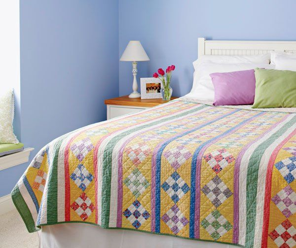 Whether You Love Retro Or Have Fond Memories Of Sleeping Under A 1930s Quilt,  You