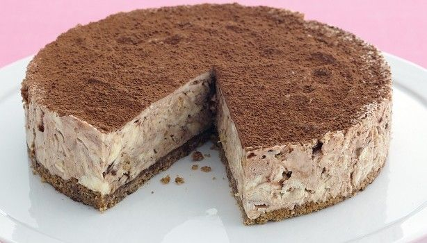 Cheesecake με cookies και nutella