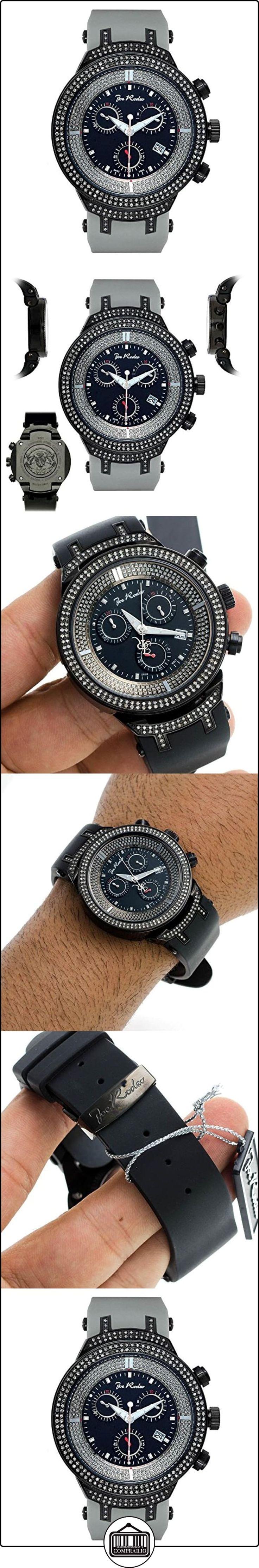 JOE RODEO Diamond Reloj para hombre-Master Negro 2.2quilates  ✿ Relojes para hombre - (Lujo) ✿