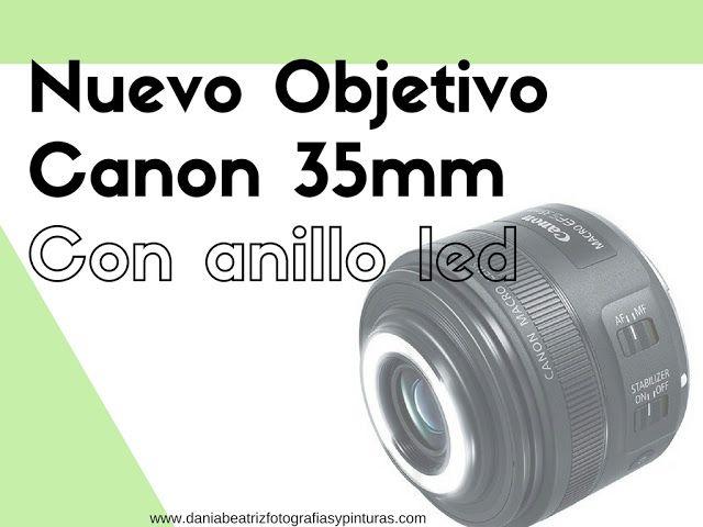 Canon anuncia un nuevo objetivo macro