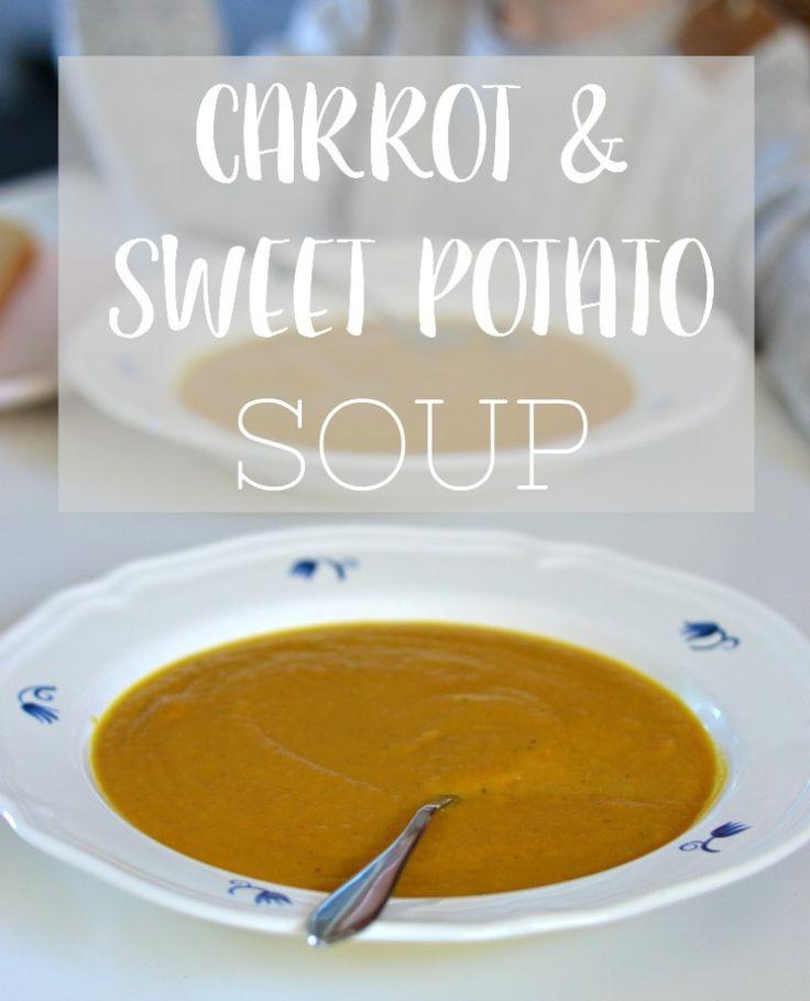 CARROT & SWEET POTATO SOUP