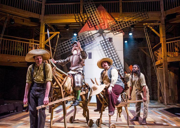 Don Quixote review – David Threlfall rides high as Cervantes's ingenious gent