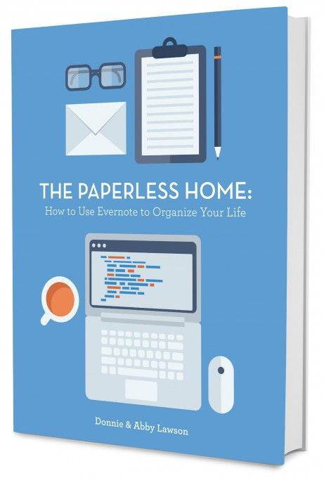 Going paperless - good blog post to read:  The Paperless Home | JustAGirlAndHerBlog.com