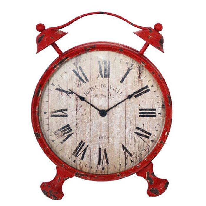 Rustic Table Clock