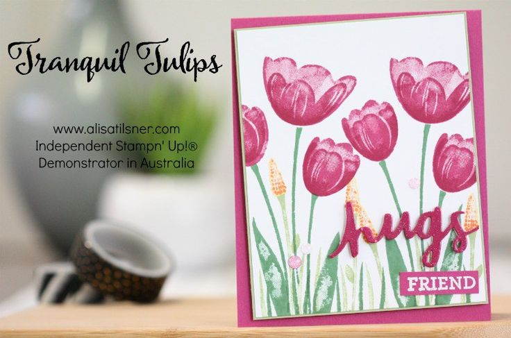 Tranquil Tulips by Alisa Tilsner
