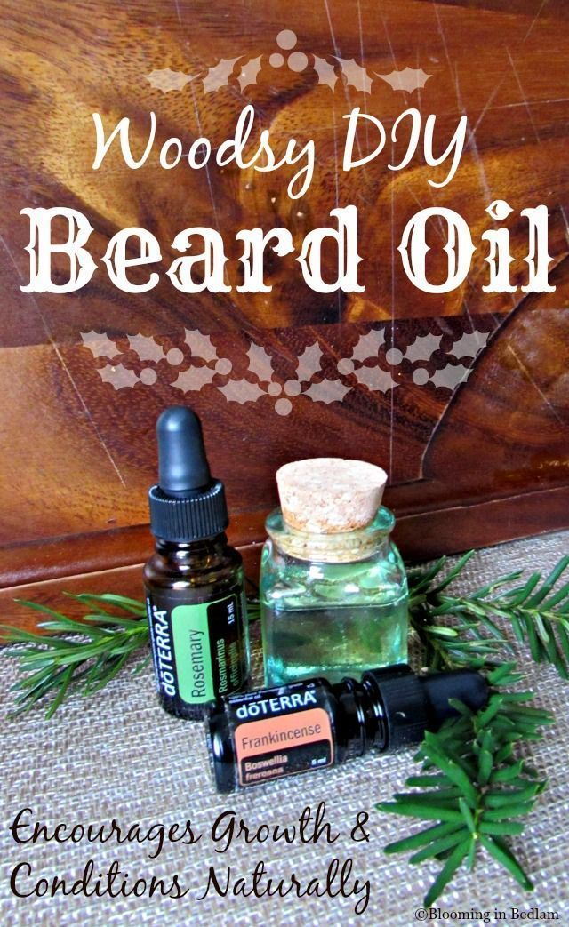 In honor of Movember, this Woodsy DIY Beard Oil promotes beard growth & conditions naturally. DoTERRA Rosemary Essential Oil encourages hair growth, while keeping beards soft & manageable.