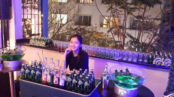 Coffee Bean and Tea Leaf event with Teisseire & Perrier in Saigon, Vietnam