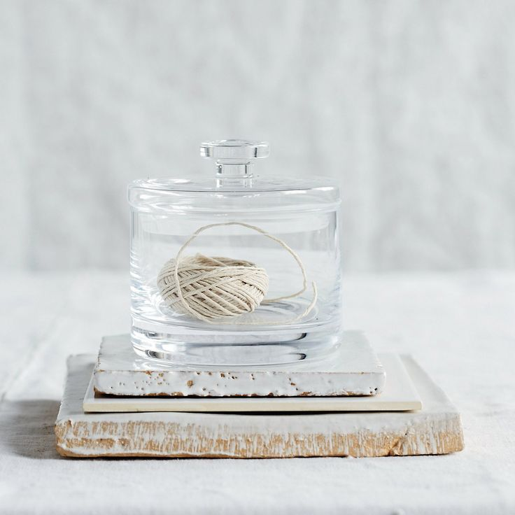 Glass Container - Small | The White Company