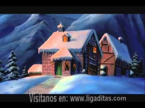 Spanish videos for kids: Rudolf the Red-Nosed Reindeer. Rudolf el Reno, animated movie. #Spanish movies for kids #Spanish Christmas videos