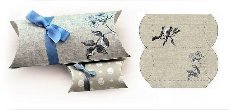 Dianthusa-Paris: Cajas de regalo // Gift Boxes (DIY)
