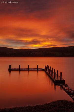agoodthinghappened:    Ullswater Sunrise by .Brian Kerr...