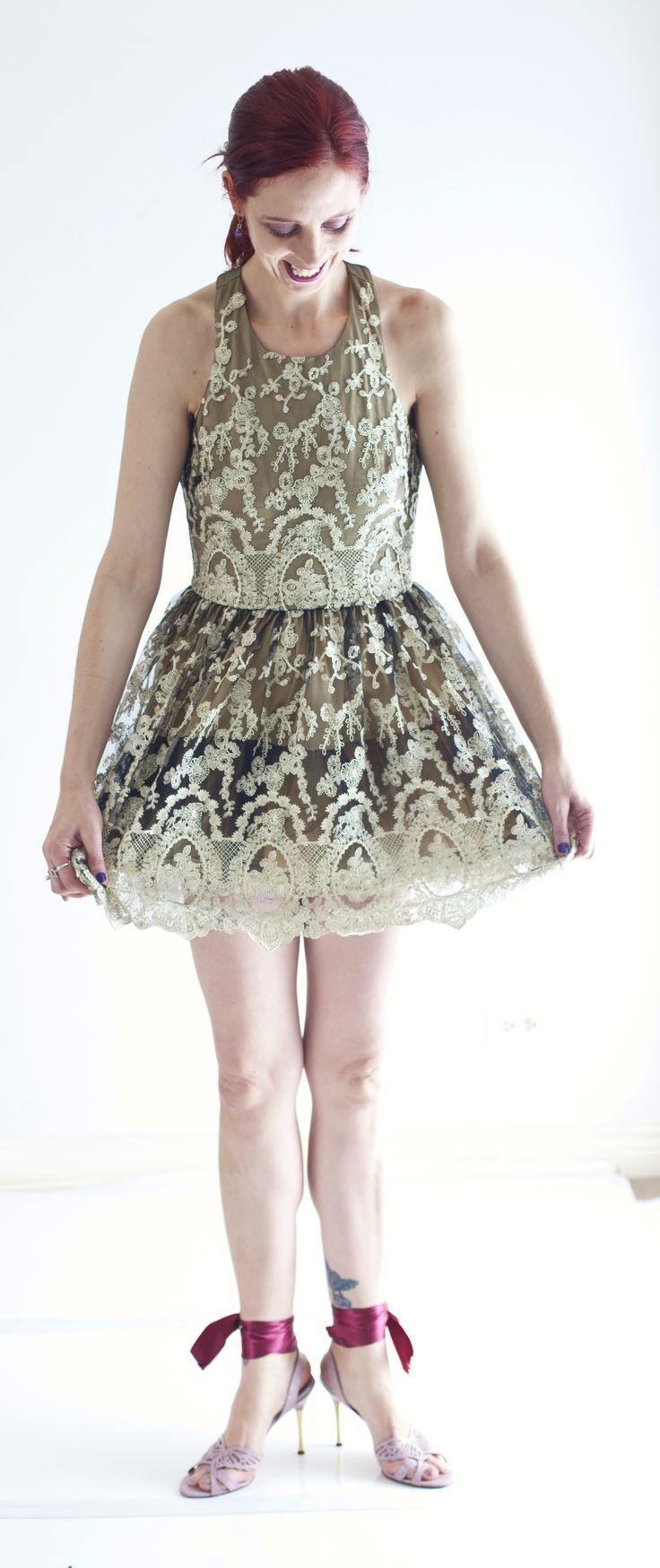 Design Lab @TheHudsonsBayCo Party Dress