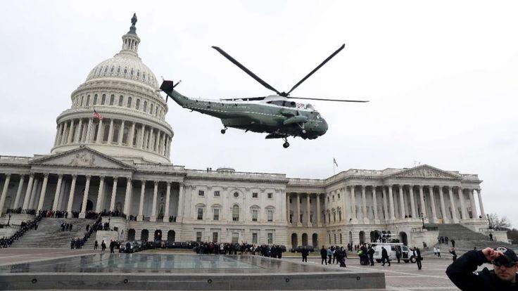 Nach Trumps Amtseinführung   Hier fliegen die Obamas in ein neues Leben - Politik Ausland - Bild.de