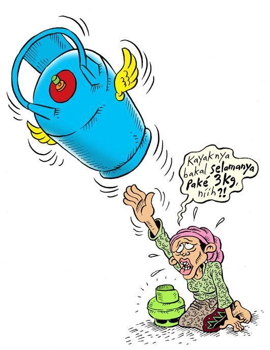 Mice Cartoon, Rakyat Merdeka - September 2014: Selamanya Pake 3 Kg