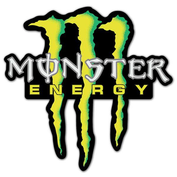 Adesivi per Auto e Moto: Monster Energy 5