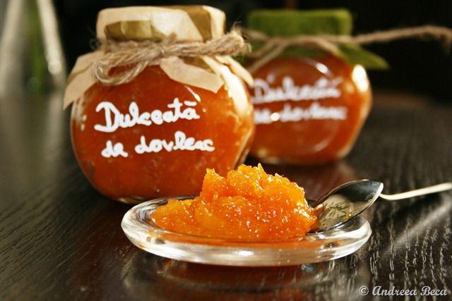 Dulceata de dovleac cu portocale si ghimbir