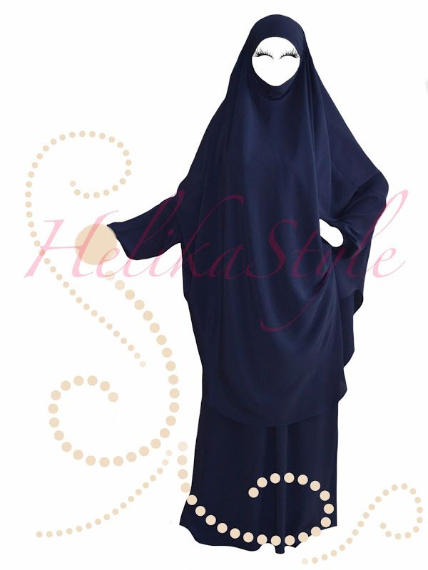 HelikaStyle French Jilbab designed by HelikaStyle. For inspiration. Sew with me!