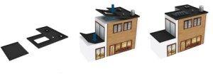 Nouveaux produits bâtiment : Face au développement des constructions à toit plat Flexirub réinvente létanchéité des toitures plates avec un concept innovant 100% français