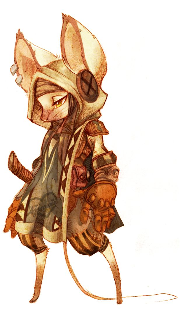 .: The Thief :. by ~pollo-chan Reminds me of Guild Wars 2
