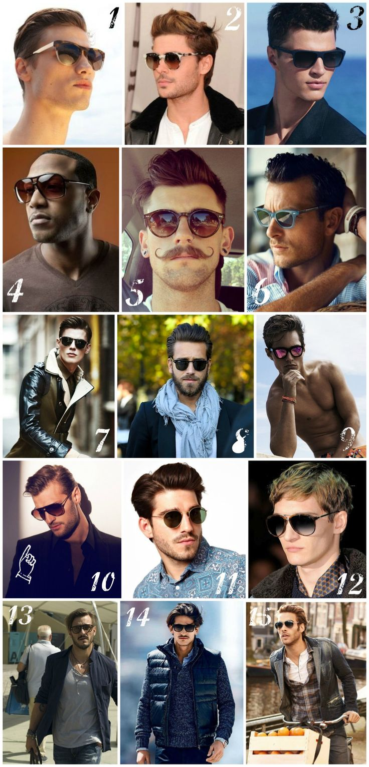 Looking for a new sunglass style? Men's Sunglass Style by http://www.RoyalFashionist.com